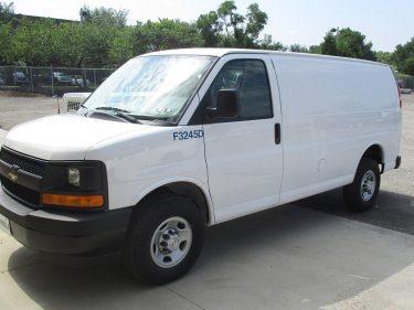 Cargo Van Drive Side
