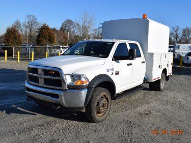 Hi Top Crew Cab Utility Truck 6